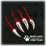 beast claws street team