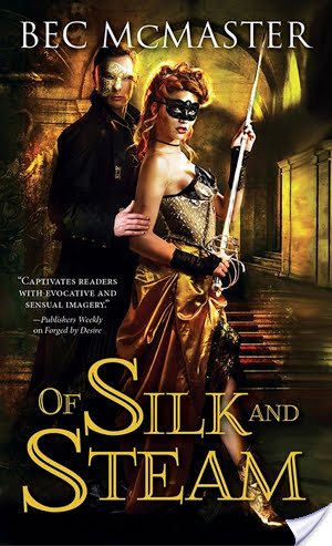Spotlight: Of Silk and Steam by Bec McMaster
