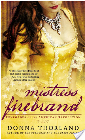 Blog Tour: Mistress Firebrand by Donna Thorland