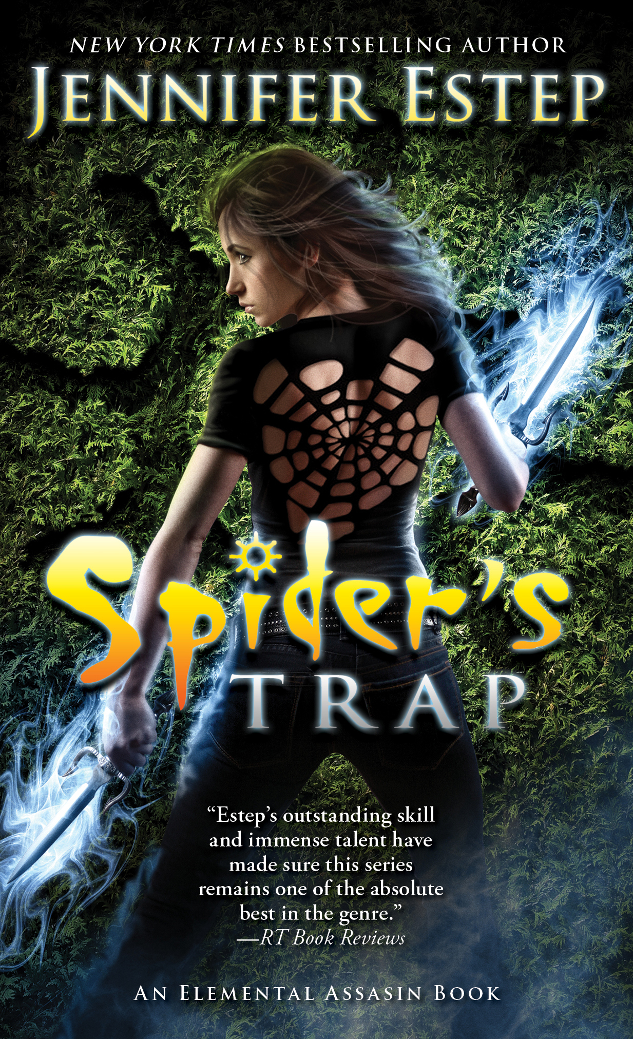 Blog Tour: Spider's Trap by Jennifer Estep