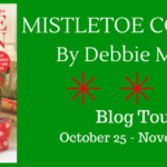 mistletoe cottage blog tour banner
