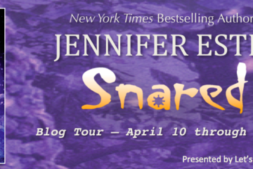 snared blog tour banner